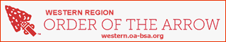 Western Region, Order of the Arrow